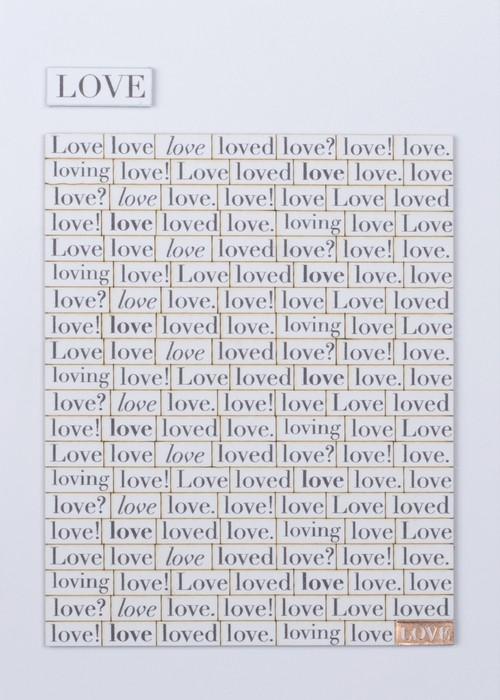 Word Card Love #864