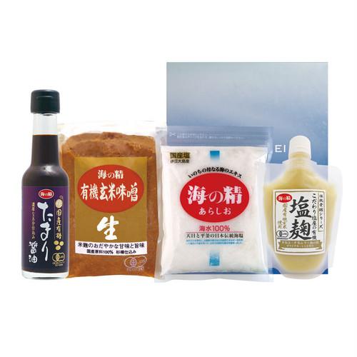 """海の精 """"国産有機""""で広がる調味料セット"""