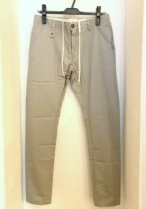 Stretch Tapered Shirts Pants Gray