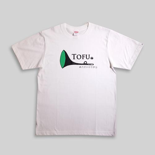 TOFUラッパTシャツwhite