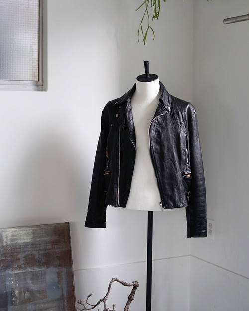British Vintage - Motor Cycle Leather Jacket