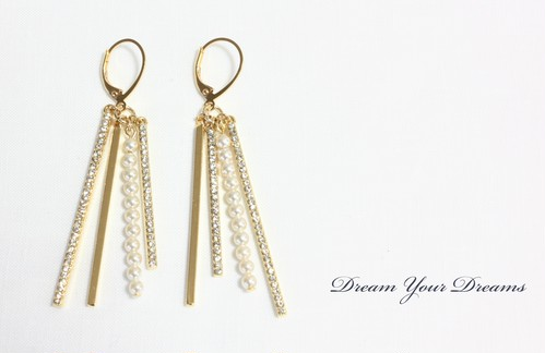 Strings /Gold・Silver ピアス・イヤリング