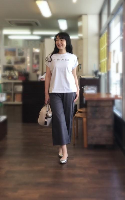 【rimorso】大人をきれいに見せるTシャツ 綿素材
