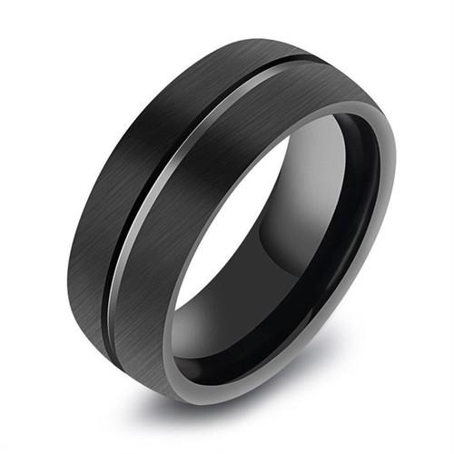 送料込み☆大特価!D016 レディース メンズ 指輪 ブラック ステンレス 韓国 原宿系ファッション