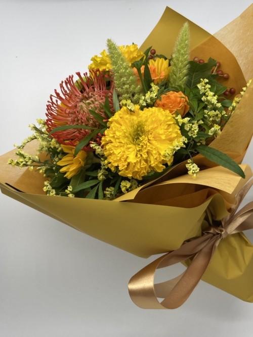 bouquet ブーケ Sサイズ (イエロー・オレンジ系)
