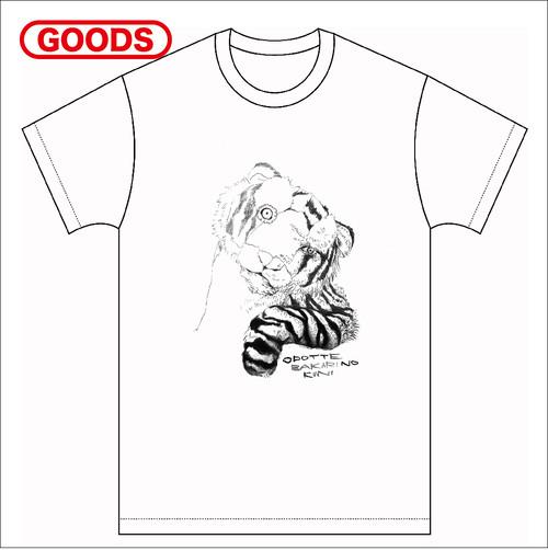 [T-shirts]踊ってばかりの国『TORA Tee』