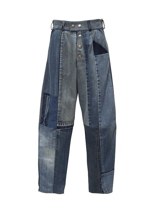 FADE OUT Label / COBALTO Trousers / Medium Blue