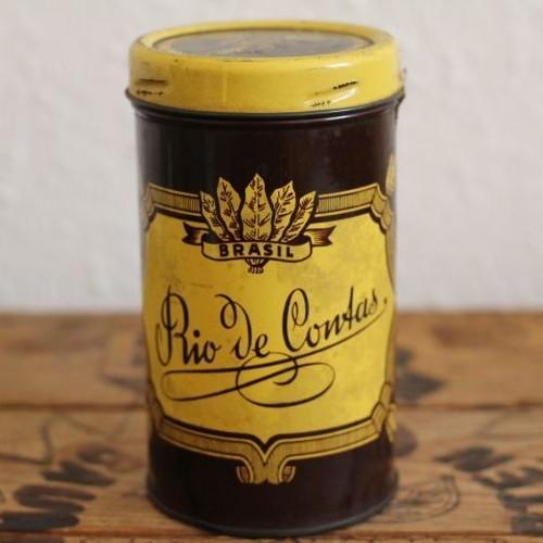 ヴィンテージ タバコのティン缶 Rio de contas(?)