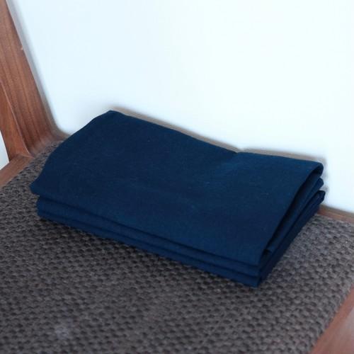 奈良の藍染め手ぬぐい 藍色