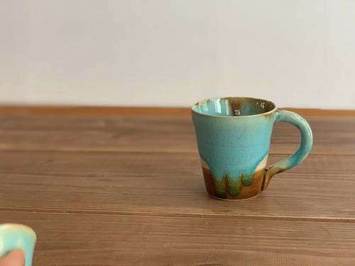 『 Al mare アルマーレ 』43 Pottery caffe カップロング