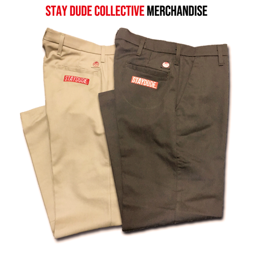【STAY DUDE COLLECTIVE】Work Pants 2019