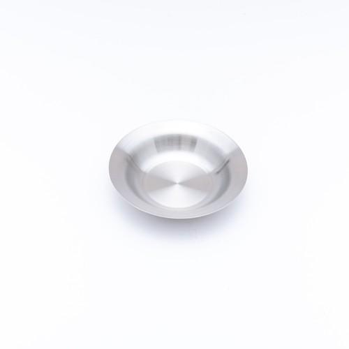 韓国ステンレス食器/パスタ皿/(0号)【直径16.3㎝/高さ3.4㎝】