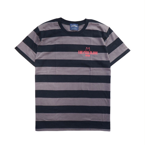 【THE FISH SLAVE S/S TEE】black / charcoal