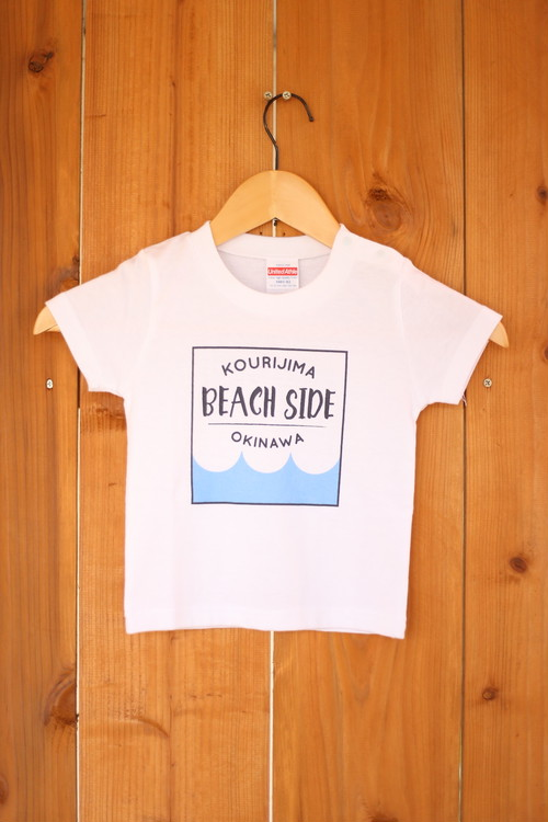 BEACH SIDEロゴTシャツ(キッズ)