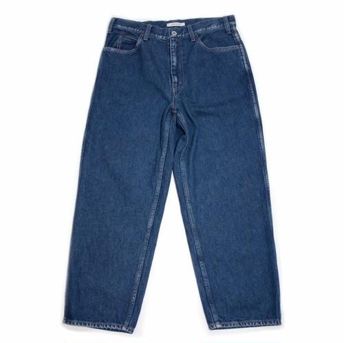 """LIVING CONCEPT """"5pocket wide denim pants """"(BIO WASH)"""