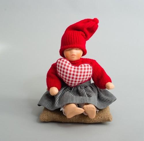 ノルウェーニッセ人形 ハートシスター