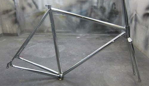 ORIGINAL FRAME SET ROAD CHROME
