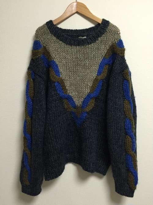 90's HAND MADE sweater