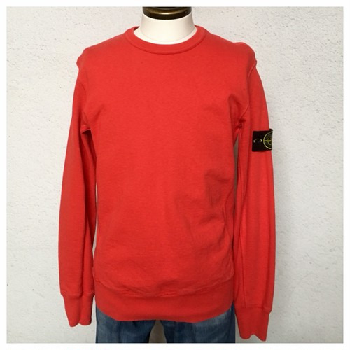 Stone Island C/N Sweat Made in Romania / Red