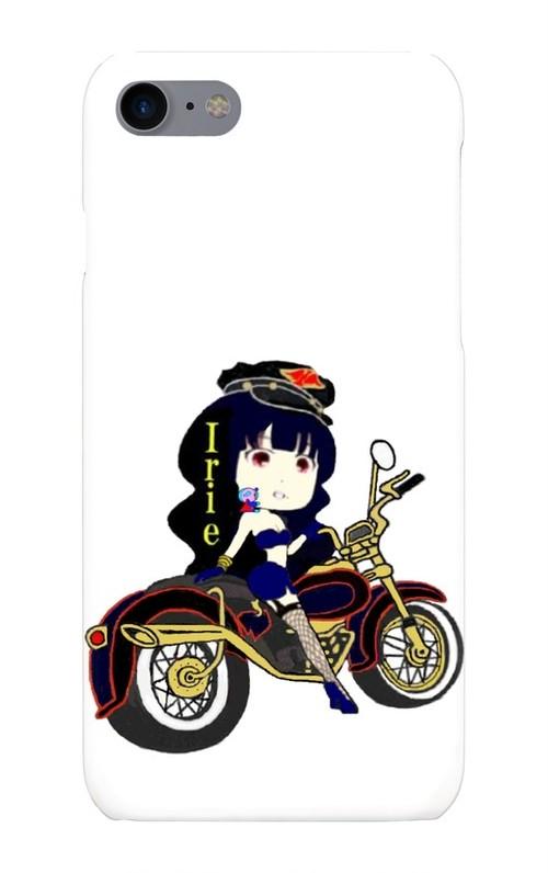 Irieブラックライダー姫スマホケース(iPhone7 / 8)※他アバター画像は問い合わせ対応可