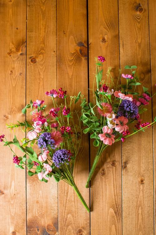 お花単品【お盆・お供え・仏花】お供え仏花花束 造花-P-