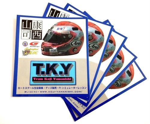 TKYステッカー(5枚)