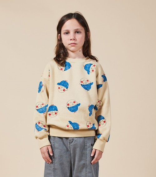 BOBO CHOSES ボボショセス Boy All Over Sweatshirt size:2-3Y(100)~8-9Y(130)