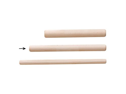 木製 「長めの餃子・焼売 めん棒 2Φ×22.5cm」 ポストIN発送対応商品