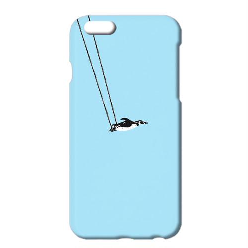 [iPhone ケース] ペンギンと空中ブランコ A