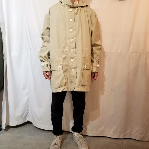 Dead stock Swedish army M-62 snow parka / Made in Sweden[K-947]