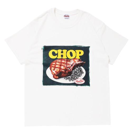 CHOP TEE/WHITE