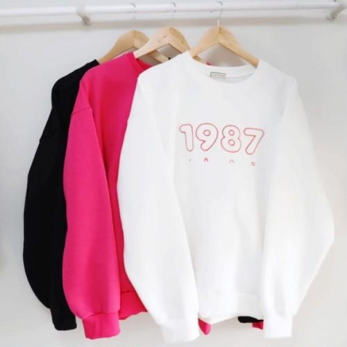 1987MTM ★UNISEX MTM トレーナー 韓国ファッション