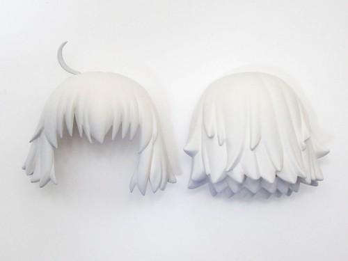 【1170】 ジャンヌ・ダルク(オルタ)新宿Ver. 髪パーツ ショート ねんどろいど