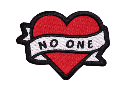 NO ONE Embroidered Patch
