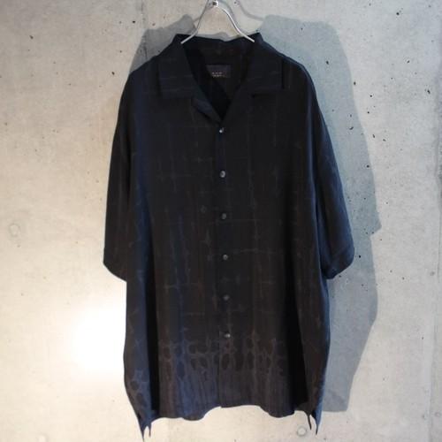 Short Sleeve Open Collar Design Shirt