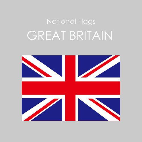 National Flags Sticker [GREAT BRITAIN]