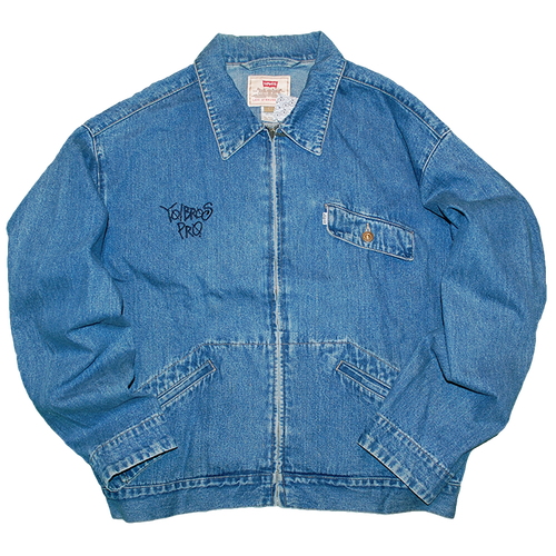 """Yo! Bros Pro. Remake"" Levi's Denim Jacket Used"