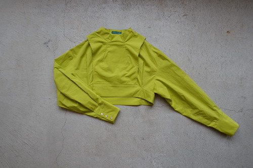 ohta yellow jumper (yellow / size:F) [jk-39Y]