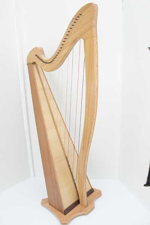 SKハープ 34弦単板モデル【受注生産】