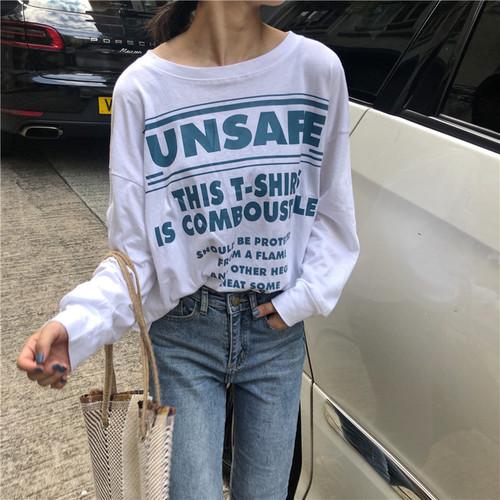 【お取り寄せ商品】シンプルロングスリーブTシャツ 7301