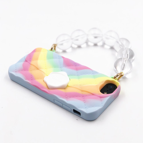 "SEAL STAMPED HANDBAG  ""TIEDYE"" for iPhone8/7/6s/6"