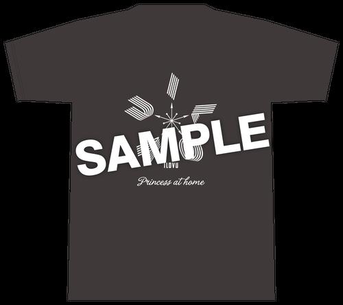 ILoVU 在宅Tシャツ (ブラック)