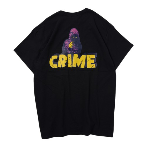 CRIME S/S TEE(BLACK)[TH9S-008]