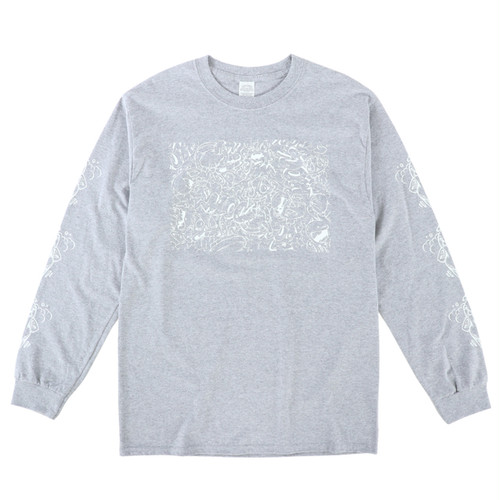 My Own Change / Long Sleeve T-Shirt / Augurio Buonanno / Gray