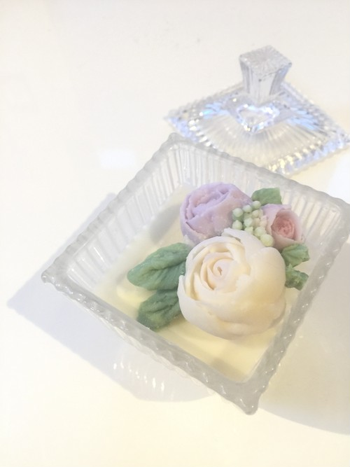 flower candle 【pure】