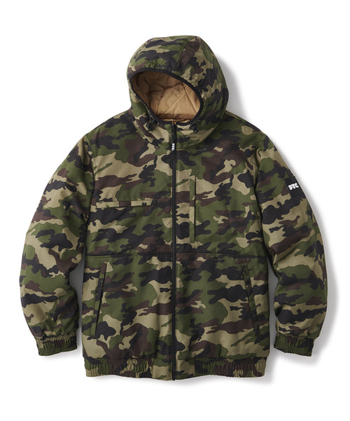 FTC / REVERSIBLE HOODED PUFFY JACKET -CAMO-