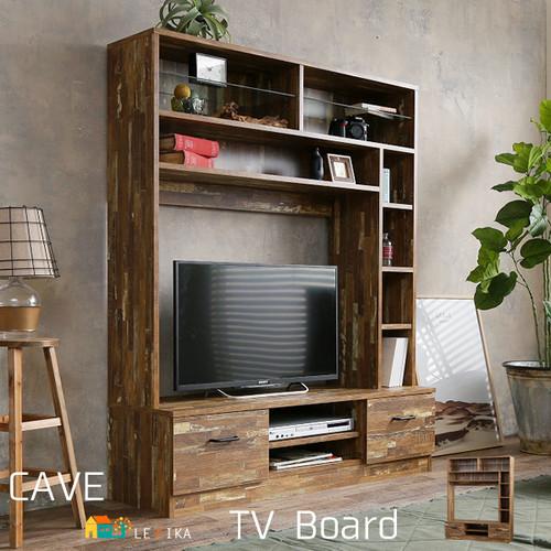 送料無料 ハイタイプテレビ台 壁面テレビ台 TV台 テレビボード 幅120cm 奥行39cm 高さ150cm 壁面収納 ハイタイプテレビボード TVボード ダークブラウン おしゃれ おすすめ