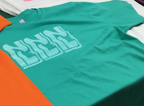 肉ラボTシャツ(緑・Lサイズ)