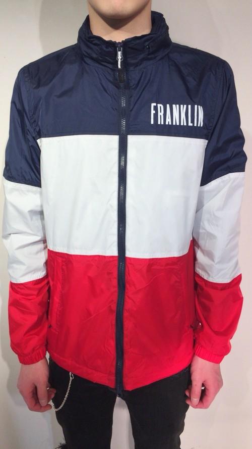 FRANKLIN&MARSHALL (フランクリンアンドマーシャル)ナイロンZIPパーカー