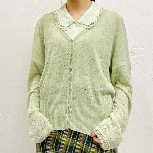 "(LOOK) ""Laura Ashley"" l/s cardigan"